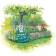 База отдыха Радуга - иконка «сад» в Пачелме